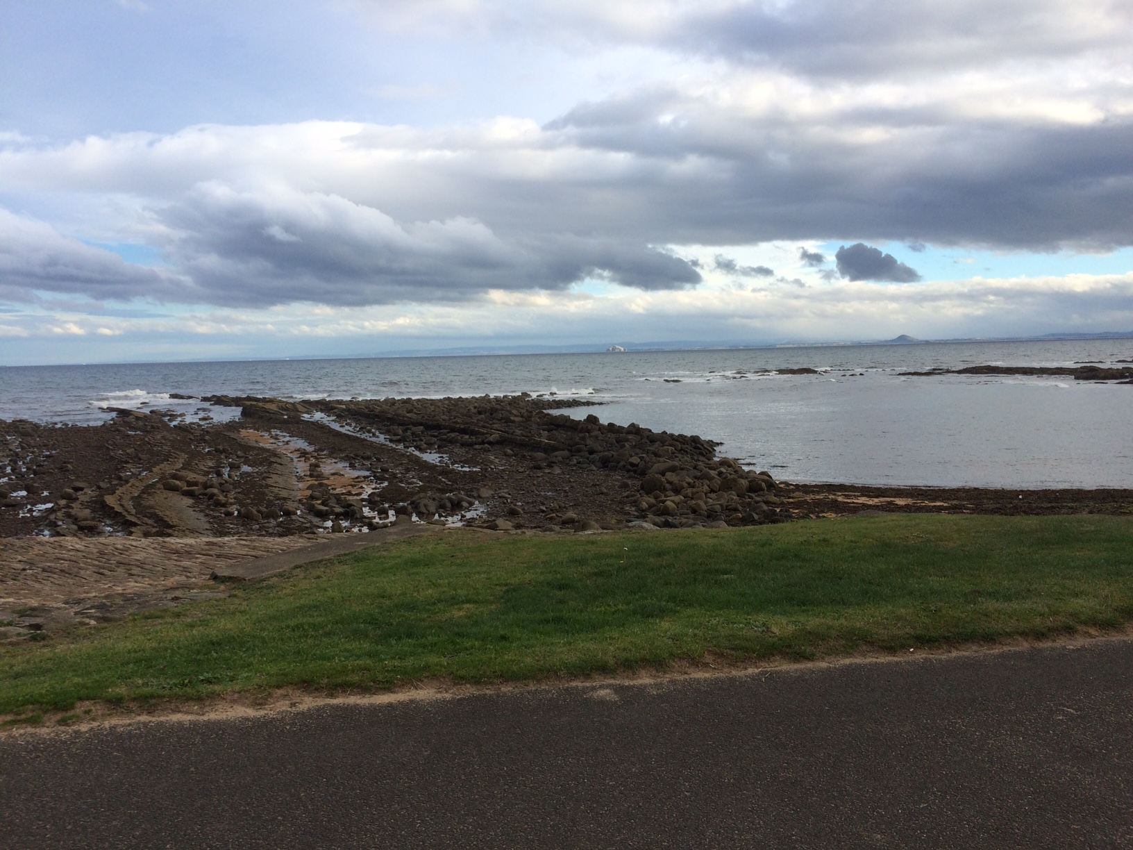 View of sea from Anstruther golf course