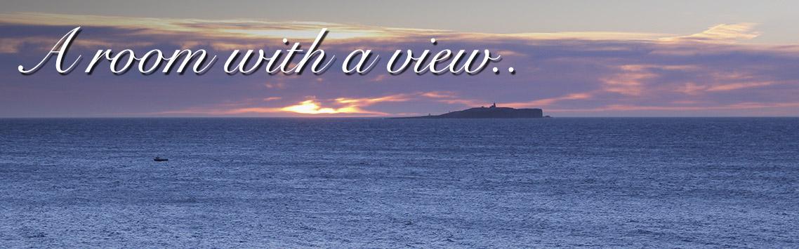 Sunrise over sea in Fife