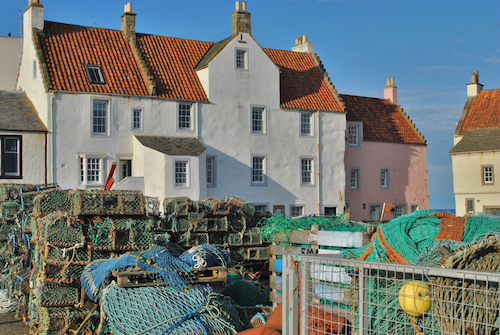 Lobster creels in Pittenweem